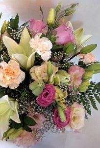 Ramo tonos pastel Flores Lantana