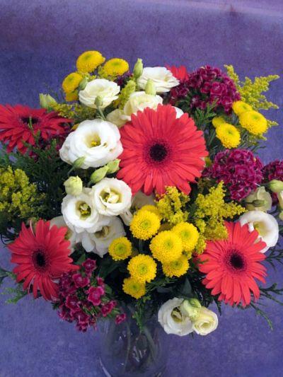 Ramo colorido Flores Lantana