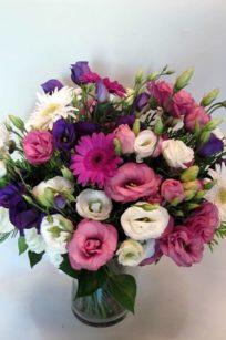 Ramo de verano con lisianthus Flores Lantana