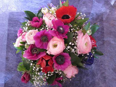Bouquet fresco silvestre Flores Lantana