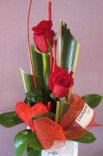 Centro detalle de amor Flores Lantana